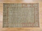8and0396x12and0391 Antique Village Hand Knotted Pure Wool Full Pile Rug R39518