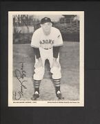 1943 Wilkes-barre Barons Golden Quality Ice Cream Tony Lazzeri Hof