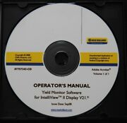 Genuine New Holland Yield Monitor Software For Intelliview Ii Operators Manual