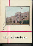 Canisteo Ny High School Yearbook 1957 New York Grades 12-7