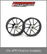 Galespeed Type R 10 Spoke Black Alloy Wheels Honda Cb1100sf X11 X-11 2000