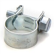 Screw Hose Clamps 13-15mm Fuel System,sclamp13-15 X 10 Pack