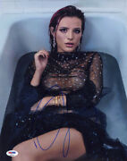 Bella Thorne Signed 11x14 Photo Famous In Love Amityville Psa/dna Autographed