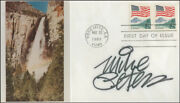 Mike Peters - First Day Cover Signed
