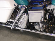 Chrome Right Side Tool Box Kit,fits Harley-davidson Motorcycle Models