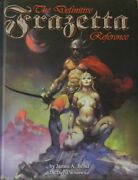 The Definitive Frazetta Reference Deluxe Hardcover Edition Brand New Rare Sealed