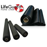 Lifeguard Pond Liner And Geo W/ Lifetime Warranty 25 Ft. X 80 Ft. 45-mil Epdm