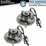 2 Front Wheel Bearing And Hub 2003-2006 Ford Expedition Lincoln Navigator 4x4 4wd