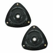Front Upper Strut Mounts Left And Right Pair Set New For Saab Subaru