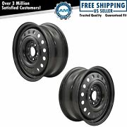 Dorman 939-184 16 Inch Steel Wheel Front Or Rear Pair For Buick Pontiac Saturn