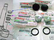 Yamaha Rd350lc Front Fork Tube Top Kit - Ring Stopper Seat Spring Cap Rd250lc