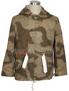 Ww2 German Tanandwater Camo And White Winter Reversible Parka Size Xl -33996