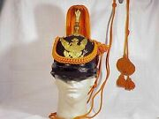Model 1881 U.s. Army Signal Corps Dress Helmet And Cords Used From 1881-1885