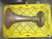 Vintage Kahlenberg Brothers T-3 Bronze Air Horn 16l X 10od 17.5lbs