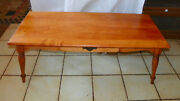 Mid Century Solid Maple Mid Century Coffee Table By Mersman Ct185