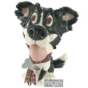 Little Paws Gyp The Border Collie Dog Figurine New In Box