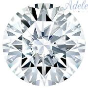 Loose Moissanite 11.5mm 5ct D/e/f Colorless Brilliant Round Shape Certified Usa