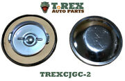 1945-1971 Jeep Cj Non-vented Gas Cap For Under The Seat Tanks