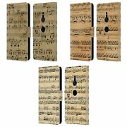 Head Case Designs Music Sheets Leather Book Case And Wallpaper For Sony Phones 1