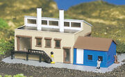 Bachmann Plasticville N Scale Building - Factory With Accessories 45902 New