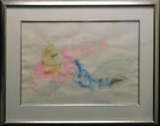 Nelson Snowboarder Original Watercolor On Paper With Black Frame Make An Offer