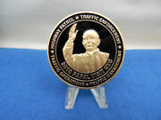 Pope Francis 2015 Papal Visit New York City Nypd Chief Of Transportation Coin