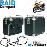 Suitcases Alu Compact 33+ 39 L And Frames Bmw 1150 R Gs / Adventure 1999-2004 Qeu