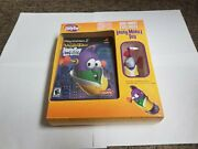 Veggietales Larry Boy And The Bad Apple With Toy Sony Playstation 2, 2006 New