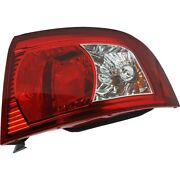 Halogen Tail Light For 2003-2006 Kia Optima Right Outer Clear/red Lens W/ Bulbs
