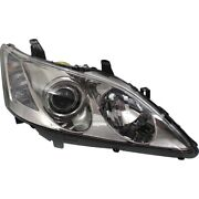Headlight For 2007 2008 2009 Lexus Es350 Base Model Right Clear Lens Hid