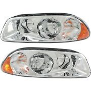New Headlight Driving Head Light Headlamp Driver And Passenger Side Lh Rh For Ctp