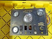 Vintage Lakeview Yacht Volt Temp Oil Tach Panel 12 X 9 Ig Horn And Accy Switch