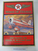 Wings Of Texaco 1930 Travel Air Model R Mystery Ship 5th In The Series New
