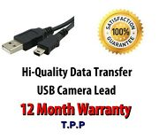 New Usb Camera Camcorder Cable Lead Select Your Make And Model In Advert