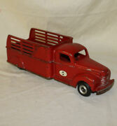 International Arcade Cast Iron Toy Truck Stake Body Number 709