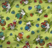 I Love You This Much Baby Dinosaurs Eggs Green Henry Glass Childrens Fabric