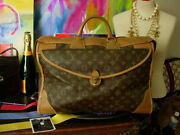 Rare Vintage Louis Vuitton Fc Tote Suitcase Luggage Travel Accessory Bag Keepall