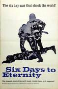 Six Days To Eternity Movie Poster Famous Israeli War 1967