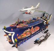 Model Aircraft Carrier Tu-126 Russian Vintage Soviet Navy Military Ship Lamp Old