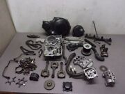 Large Box Of Engine Parts For 2000 Kawasaki Zg1000 Concours