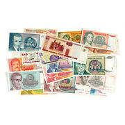 Lot Of 40 Different Countries World Paper Money Circ.- Unc.