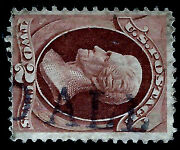 Skinner Estate 1800s Us Fancy Cancel = Partial Straight-line And039paid Alland039.....15k