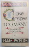 Ellis Peters.one Corpse Too Many.cadfael.s/b 1985likely Unread