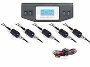 5 Read Digital Display 150psi Air Gauges And Panel Four Switch Air Ride Suspension