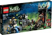 Lego Monster Fighters Crazy Scientist Andamp His Monster Set 9466