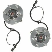 Motorcraft Front Wheel Hubs And Bearing Pair Set For 05-08 Ford F150 Truck 4x4 4wd