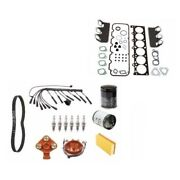 Bmw E30 325i Wire Set Plugs Air Oil Fuel Filter Belt Head Gasket Tune Up Kit