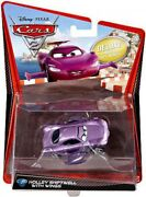 Disney Cars Cars 2 Deluxe Oversized Holley Shiftwell With Wings Diecast Car 2