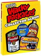 Wacky Packages Collector Album
