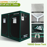 8and039x4and039x6.5and039 Mars Indoor Grow Tent Hydro Room Box Hut Reflective Mylar Non Toxic
